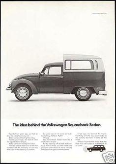 VW squareback ad