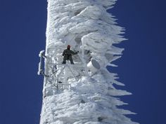 Frozen Cell Tower