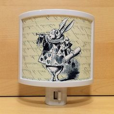 Rabbit In Waistcoat Night Light | by YOU KOW | featured on Fab