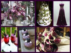 Blackberry wedding theme