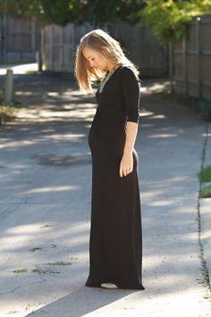 13 Weeks Pregnant | Asos Maternity Maxi Dress