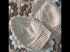 Cropped em Crochê com pérolas   Crochet com Simone Eleotério - YouTube