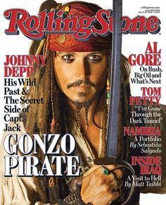 Johnny Depp's Rock Roll Life: The Rolling Stone Covers, Film Pics and More Pictures - Johnny Depp: 2006 Rolling Stone Cover | Rolling Stone