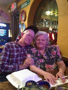 Karen vaughn parents  mr & mrs mathis 54 yrs aniversary 1/2014