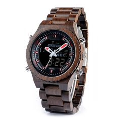 New Arrival BOBO BIRD Wooden Band Mens Watches Multinational Digital Wristwatches with Night Light and Week Display Date, Wooden Sunglasses, Hand Watch, Watches For Men, Men's Watches, Wooden Watch, Casio Watch, Phone Cases, Accessories