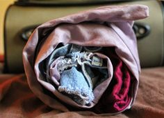 This Easy Trick Will Prevent Clothes from Wrinkling While Traveling