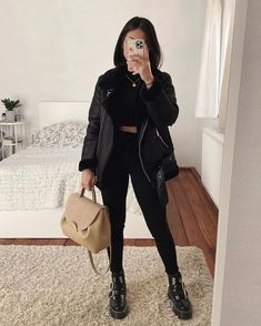 Casual Winter Outfits, Winter Fashion Outfits, Classy Outfits, Look Fashion, Stylish Outfits, Fall Fashion, Fashion 2020, Beautiful Outfits, Korean Fashion