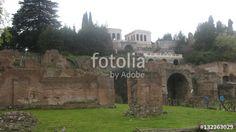 Restos de la antigua ciudad de Roma. #fotolia #sold #photo #Photo #photography #design #photographer  #buy #background #italy #roma #tourism #travel #europe #ruins #monuments #Art #culture #architecture #history #archeology