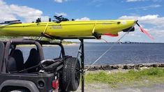 Happy Memorial Day and Check out a Hobie on a Hitchmount-Rack in NY Kayak Rack, Racking System, Happy Memorial Day, Jeep Life, Long Weekend, Kayaking, Memories, Check, Memoirs