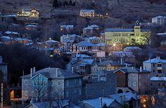 Nymfaio, in Florina, Macedonia, Greece. Travel Destinations, Travel Tips, Republic Of Macedonia, Cradle Of Civilization, Greece Travel, Montenegro, Great Places, City Photo, Cool Photos