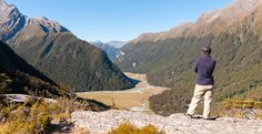 Routeburn Track One of New Zealand's Nine Great Walks Great Walks, South Island, New Zealand, Track, Hiking, Tours, Couple, Wine, Mountains