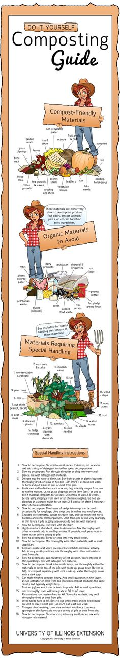 Thinking of starting a compost pile? Make sure you know what you should and should not compost.