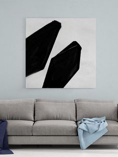 Abstract Canvas Art - Large Painting on Canvas, Contemporary Wall Art, Original Oversize Painting Large Artwork, Large Painting, Large Wall Art, Office Wall Decor, Home Decor Wall Art, Abstract Canvas Art, Canvas Wall Art, Contemporary Wall Art, Black And White