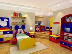 Mickey mouse bedroom | Mickey clothes | Pinterest | Mickey mouse ...