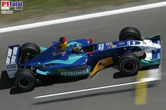 2003 Sauber C22 - Petronas (Nick Heidfeld)