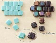 Tilas vs. CzechMates ... I prefer the CzechMates, but the Tilas are good when you want a sharp geometric look.