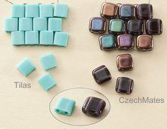 Tilas vs. CzechMates ... I prefer the CzechMates, but the Tilas are good when you want a sharp geometric look.