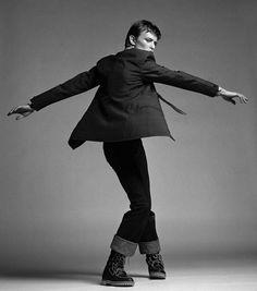 David Bowie, by Clive Arrowsmith.