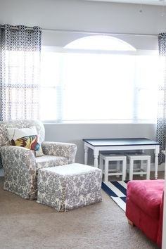 Playroom Decor Ideas - Curtains