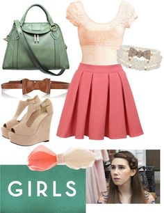 """""""Shoshanna of Girls"""" by wilmadanger on Polyvore"""