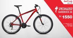 ¿Una bicicleta Specialized a S/. 1550? ¡Así es! Ven a Motion hoy y llévate la Specialized HardRock, preparada para los senderos de la montaña y las junglas urbanas.