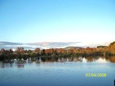 View from bridge, Arklow, Co Wicklow, Ireland.