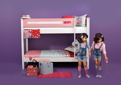 A lot of creative room solutions and practical concepts. We have collected all the room décor ideas and inspirations for girls' room, boys room and baby room. Bunk Beds, Baby Room, Kids Room, Room Decor, Furniture, Inspired, Medium, Room Kids, Loft Beds
