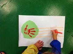 Educación Infantil: TRABAJANDO LÍNEAS Music For Kids, Art For Kids, Shape Crafts, Montessori Materials, Summer School, Letters And Numbers, Fine Motor Skills, Caterpillar, Cool Art