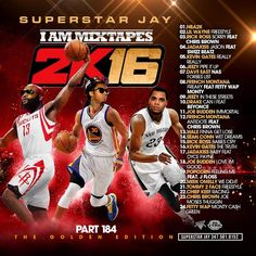 Superstar Jay is back again with the 184th edition of the 'I Am Mixtapes' series sub-titled 'The Golden Edition'.  This 24 song free music download contains a playlist that gives you music by Jadakiss, Rick Ross, Dave East, French Montana, Chris Brown, Kevin Gates, Jadakiss, and more.  Head over to the site today to pick up this free music download!