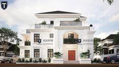 Five bedroom duplex in Nigeria Duplex Plans, Dream House Plans, Modern Architecture, Bungalow, House Design, Mansions, Bedroom, House Styles, Building