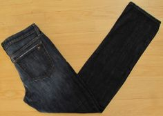 "Joe's Jeans 34 Brixton Kalem Dark distressed Blue Mens Slim Straight Narrow 33""  #JoesJeans #SlimSkinny"