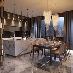 Luxury Kitchen Design, Luxury Kitchens, Interior Design Kitchen, Small Kitchens, Modern Kitchens, Interior Paint, Kitchen Designs, Home Kitchens, Top Interior Designers