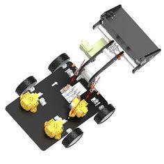 DIY Remote Control Loader Toy Car