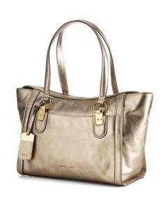 1a6876ac040 Lauren Ralph Lauren Thurlow Leather Satchel TANZANITE Ralph Lauren  Handbags, Winter Looks, Winter Style