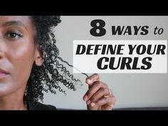 8 TECHNIQUES TO DEFINE YOUR CURLS [Video] - Black Hair Information