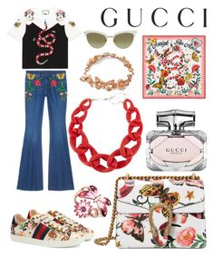 """Presenting the Gucci Garden Exclusive Collection: Contest Entry"" by tammy-gardner on Polyvore featuring Gucci, DIANA BROUSSARD and gucci"