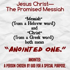 """God's Kingdom has a Ruler chosen by God. The Messiah is not self-appointed, nor is he selected by imperfect humans. He is personally chosen by Jehovah God. The very titles Messiah and Christ suggest as much. Both words mean """"Anointed One."""" So this King is anointed, or designated for his special office, by Jehovah. God says of him: """"Look! My servant, on whom I keep fast hold! My chosen one, whom my soul has approved! I have put my spirit in him. Justice to the nations is what he will bring forth. Isaiah 42, Our Father Prayer, Begotten Son, Spiritual Thoughts, Bible Knowledge, Bible Verses, Scriptures, Greek Words, Son Of God"""