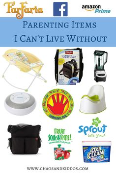 Must-Have Parenting Items That I Can't Live Without