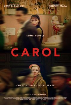 Carol movie poster (Image found on Little White Lies magazine facebook page)