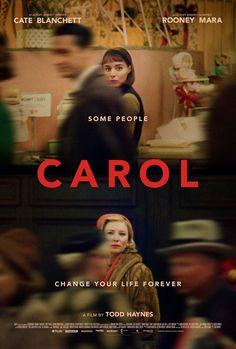 Carol movie poster (Image found on Little White Lies magazine facebook page)