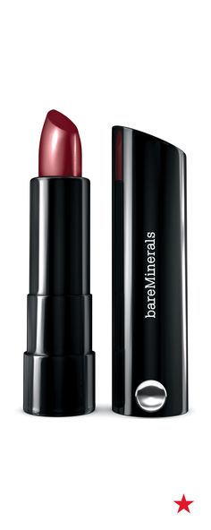 Make an impact with a voluptuous and colorful pout. bareMinerals Marvelous Moxie lipstick makes lips look fuller with a moisture-based and vitamin rich formula.