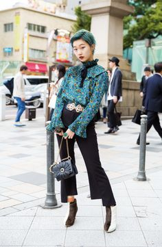 The Best Street Style Photos From Tokyo Fashion Week Spring Harajuku Fashion ? Tokyo Fashion, Harajuku Fashion, Fashion Kids, Fashion Photo, Trendy Fashion, Fashion Women, Fashion Fashion, High Fashion, Fashion Dresses