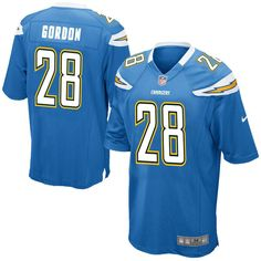 854a7b66248 Melvin Gordon Los Angeles Chargers Nike Youth Game Jersey - Powder Blue