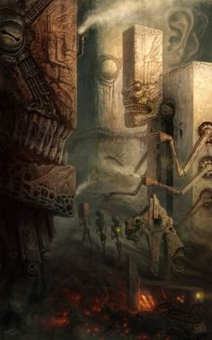 Zdzislaw Beksinski    I think I used to work here...