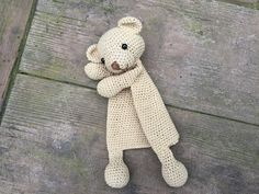 A darling little Taddy Bear has been born into the Ragdoll family! This Taddy Bear Lovey is a plush toy and security blanket all in one! It's perfect for baby's little hands and will surely become a friend for your baby and even older children. This is an