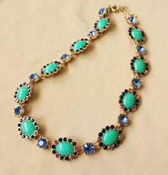 Aquamarine Gemstone Diamond Necklace DC100N6033 $30.00