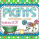 My biggest unit yet!  So excited about this one!  This packet is jammed with math and literacy centers for your little ones.  The centers are sure ...  http://www.teacherspayteachers.com/Product/Plants-Math-and-Literacy-Centers-630337