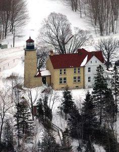 Beaver Head lighthouse [1858 - Beaver Island, Michigan, USA]