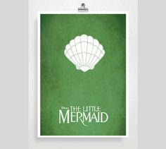 Disney The Little Mermaid Movie Poster  Disney by POSTERED on Etsy, $18.00