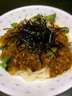 簡単手抜き料理です。 - 24件のもぐもぐ - ジャージャー麺 by nukesaku